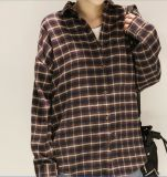 Customed Scratch de haute qualité Plaid chemises hommes/femmes