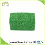 Latex-freies nichtgewebtes elastisches zusammenhängendpferden-Bindeverband