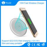 Drahtlose Aufladeeinheits-Auflage des Handy-10W für iPhone und Samsung