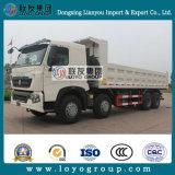유로 4 팁 주는 사람 트럭을%s HOWO T7h 8X4 덤프 트럭