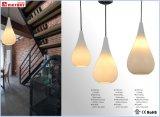 De façon moderne de la suspension à billes de verre rondes pendaison lumière lampe de la poignée de commande