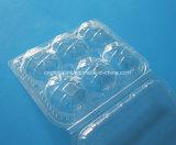Il commestibile di sicurezza progetta i contenitori per il cliente impaccanti della copertura superiore di plastica libera per la frutta di Kiwi