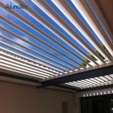 Pergola en aluminium de toit de jardin ouvrant le Gazebo chinois