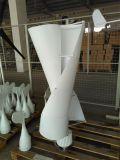Gerador de turbina vertical silencioso do vento de 300W 12V/24V com o controlador da carga da bateria