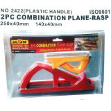 Blister double corps en plastique d'emballage combiné 2PCS Set râpes d'avion