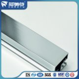 profils 6063-T5 en aluminium Polished pour la partition de pièce de douche