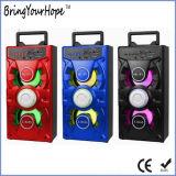 Draagbare Houten Hifi x-BasSpreker met USB/SD/FM/Karaoke (xh-ps-718)