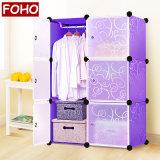 غرفة نوم خزانة ثوب خزانة لوح خزانة ثوب حديثة [فولدبل] بسيطة بلاستيكيّة