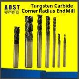 Торцевая фреза каннелюры карбида вольфрама 4 покрытия Tialn плоская для режущих инструментов