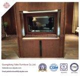 Meubles commerciaux d'hôtel avec le stand monté en bois de TV (YB-O-3)
