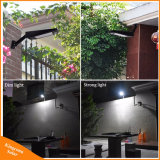 Im Freien Solarlicht der Beleuchtung-900lm LED für Modus-die drehbare Pole-Solarlampe der Garten-Wand-48 LED vier am neuesten