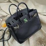 2017 de Schouder van de Vrouw van de manier doet het Klassieke Echte Leer van de Handtas van het Ontwerp Dame in zakken Tote Bag From China Emg5226