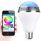 APP 침실을%s 통제되는 Bluetooth 스피커 E27 LED 전구