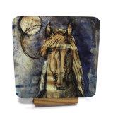 コルクの背部を持つMDFから成っているカスタム馬のコースター