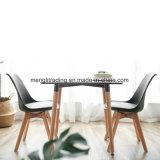 熱い販売木製デザイン食堂のプラスチック椅子