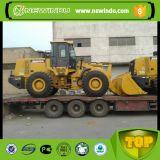 XCMG 5 Ton LW500fv Pá carregadeira de rodas dianteira no Sudão