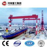 El modelo BH o SH Heavy Duty de la construcción naval astillero o grúa pórtico