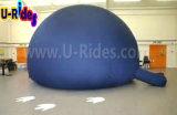 교육을%s 진한 파란색 팽창식 플라네타륨 프로젝트 돔 천막