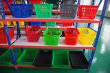 Корзина для товаров хранения оптового супермаркета гастронома пластичная