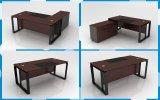 De houten Moderne Uitvoerende Lijst van het Bureau, het Bureau van de Computer met Opslag