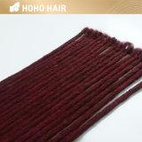 Asymétrique de 22 pouces de cheveux synthétiques dreadlocks Crochet sèche
