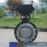 Ladeada de flúor/forro de PTFE de Aço Inoxidável351 CF8m Lug Válvula Borboleta