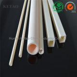 Tubo di ceramica dell'allumina elettrica industriale refrattaria dell'isolamento