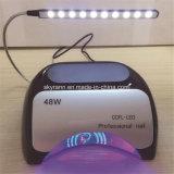 A beleza da arte de unhas Secador rapidamente 48 Watt Lâmpada da Unha do LED
