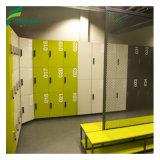 De waterdichte Kast van de Zaal van de Sauna Compacte Gelamineerde Veranderende