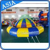 Barca gonfiabile della discoteca di volo della strumentazione della sosta dell'acqua, gioco gonfiabile umano dell'acqua