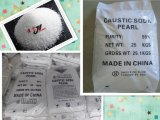 Granos químicos de la soda cáustica de la fabricación de papel