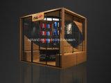 Entfernbares System System-im Innenbildschirmanzeige-Kiosk für Hefterzufuhren, Sandelholze, Kleider, Sportsbag Ausstellung