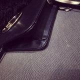 Pacote retro da diagonal do saco de ombro da bolsa do ouro do anel do metal de Coreia
