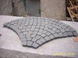Ciottoli naturali del granito della pietra del cubo per la pavimentazione e pavimentare