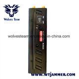 8 inhibidores de mano de la Antena WiFi GPS L1 L2 L5 y 2G 3G 4G de señal de teléfono jammer