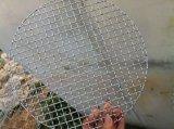 Het roestvrij staal Geplooide Netwerk van de Draad