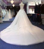 Отбортовывать мантию платья венчания шарика смычка Bridal Bridal