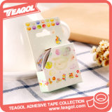 Color de alta temperatura adhesivo decorativo cinta Washi Tape