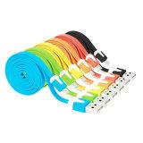Delicados coloridos de alta qualidade Noodle cabo de dados USB