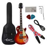 OEM ODM-Lp стандартный корпус из красного дерева Archtop электрическая гитара