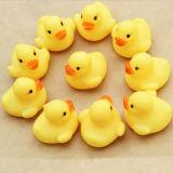 Pequeño y lindo popular baño amarillo de plástico de juguete de vinilo de pato