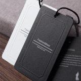 卸し売り良質の衣服によって印刷される黒いカードのこつの札