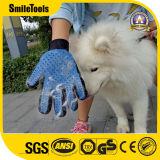 Пять пальцев ПЭТ для ухода за собой перчатки силиконовые массаж для снятия лака для волос собака очистка вещевого ящика