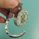 عالة معدن [فولدبل] محفظة علاّق مع مرآة ([مبه-04])