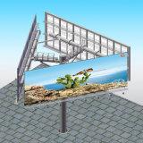 Sinal vertical ao ar livre do quadro de avisos de Unipole que anuncia o Signage da tela de Digitas