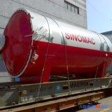 エクアドルへの2850X5000mm Sinomacの完全なオートメーションのガラスオートクレーブ