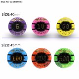 New Arrival Colorful Professional Clay Poker Chips