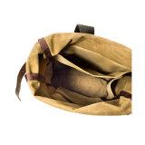Mens-Funktionsfreizeit-beiläufiger Segeltuch-Rucksack für das Kampieren und das Reiten