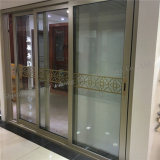 Puerta deslizante de cristal de aluminio simple del diseño moderno