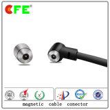 Kreismann- 1-Pin und Femalemagnetic USB-Kabel-Verbinder